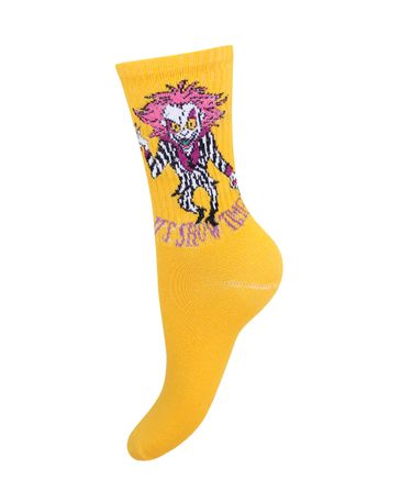 Женские носки Mademoiselle 02_Человек в полосатом костюме