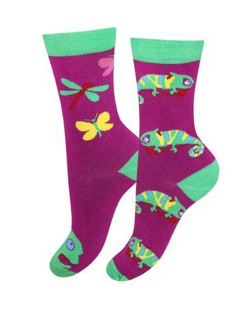 Женские носки Mademoiselle 03_Игуана