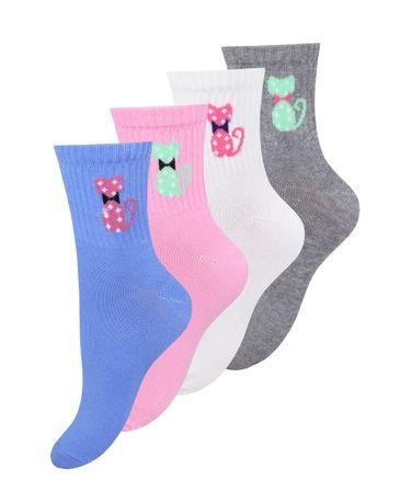 Женские носки Mademoiselle 03_Кошки